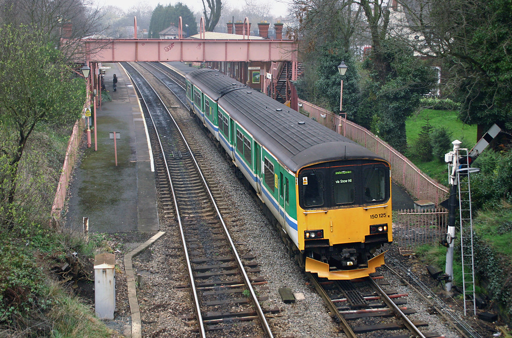 150125 Shirley 31/3/2005<br /> 2S67 1154 Stourbridge Junction-Stratford upon Avon