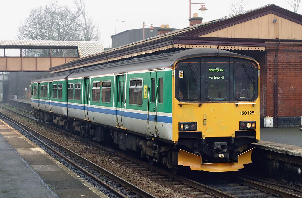 150125 Hall Green 31/3/2005<br /> 2J31 1027 Stratford upon Avon-Stourbridge Junction