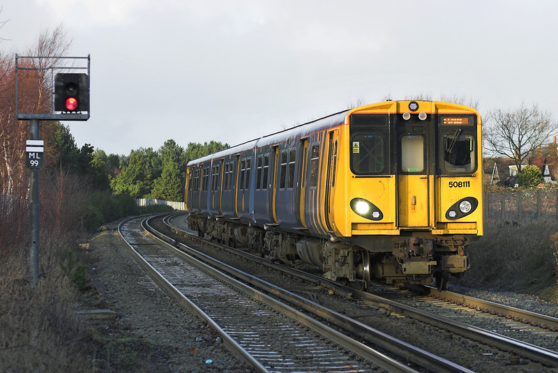 508111 Freshfield 31/12/2005<br /> 2U36 1443 Southport-Hunts Cross