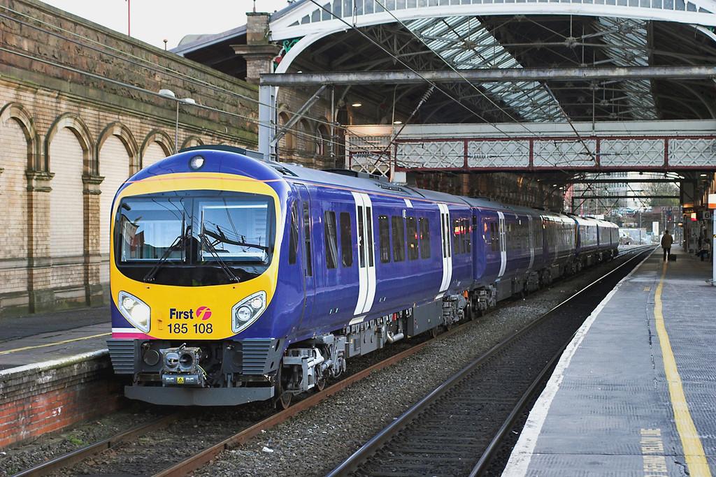 185108 and 185109, Preston 1/3/2006<br /> 1T73 1748 Preston-Barrow in Furness