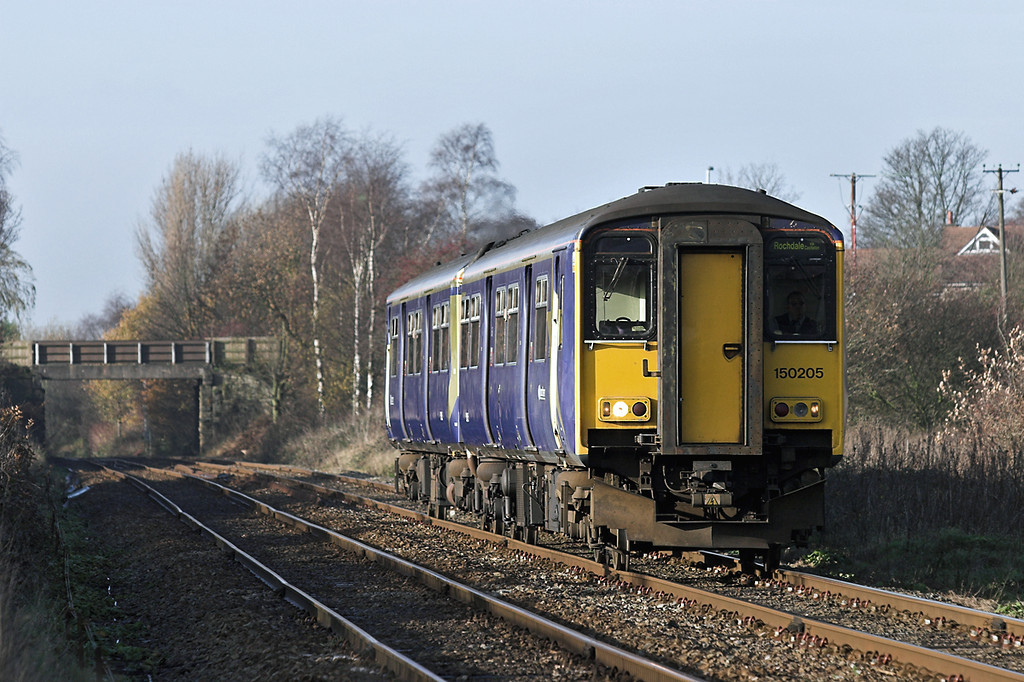 150205 Parbold 1/12/2006<br /> 2J60 1213 Southport-Rochdale