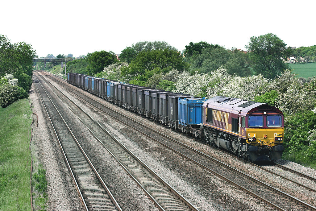 66247 Cossington 2/6/2006<br /> 6Z88 1016 Milford Sidings-Hotchley Hill
