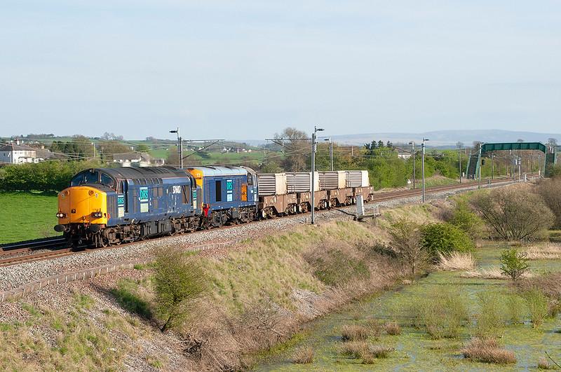 37602 and 20305, Elmsfield 3/5/2006<br /> 6C52 1638 Heysham-Carlisle Kingmoor