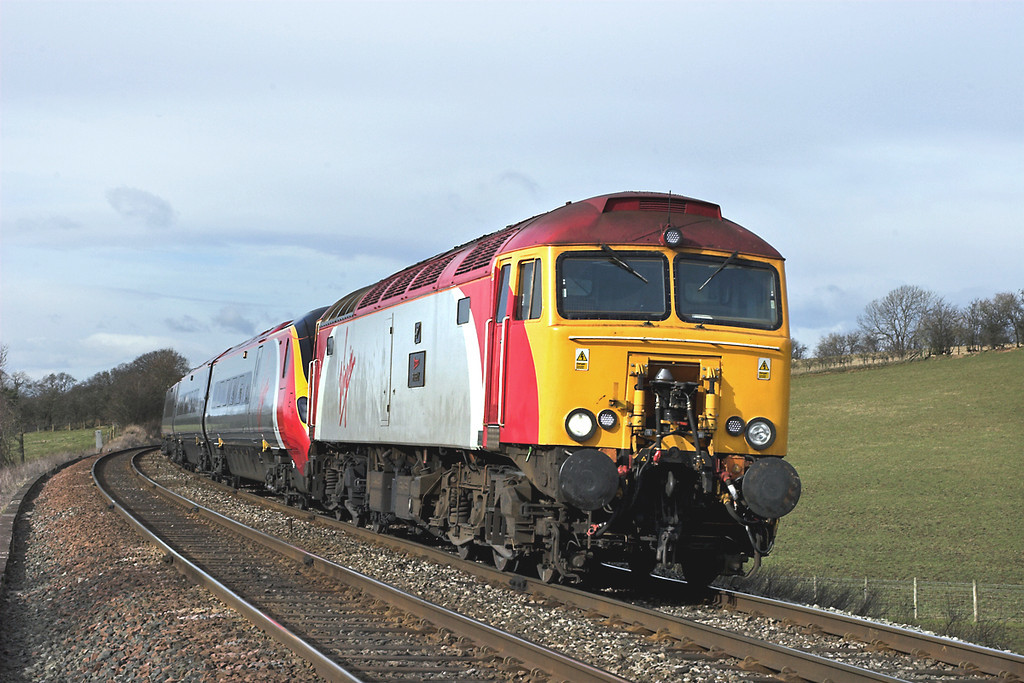 57314 and 390038, Howe & Co Sidings 4/3/2006<br /> 1M16 1140 Glasgow Central-London Euston