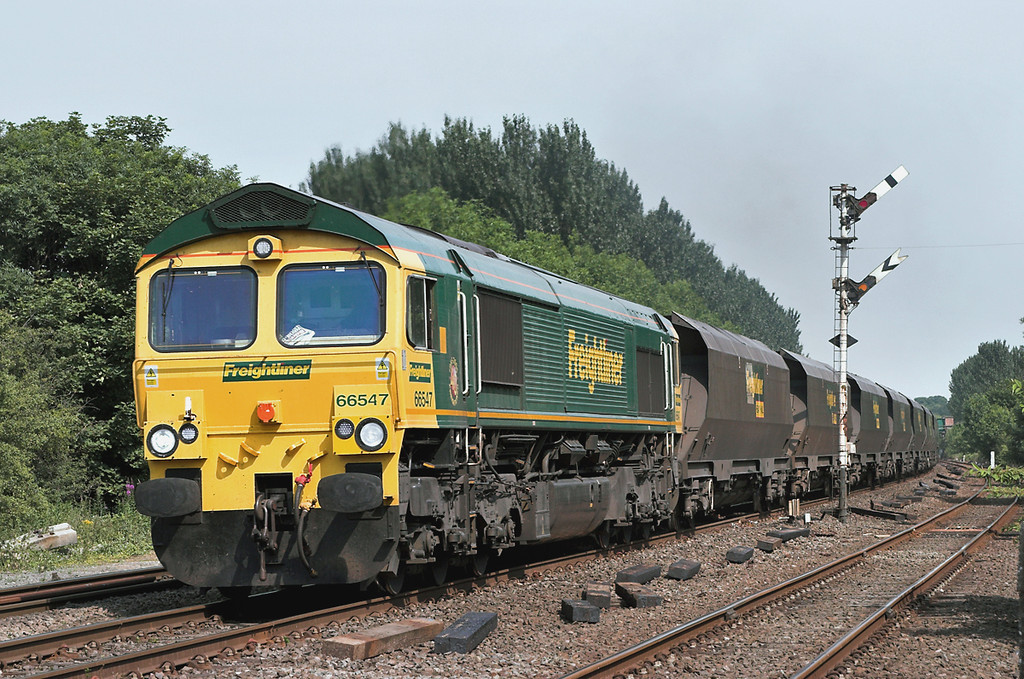 66547 Melton Lane 4/7/2006<br /> 6Y56 1445 Hull King George Dock-Drax FLT