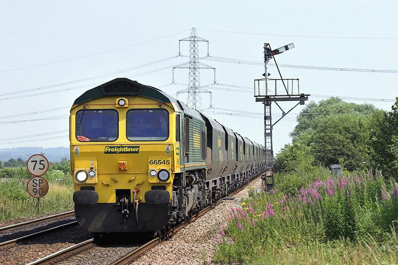 66545 Broomfleet 4/7/2006<br /> 6M51 1237 Hull King George Dock-Rugeley PS