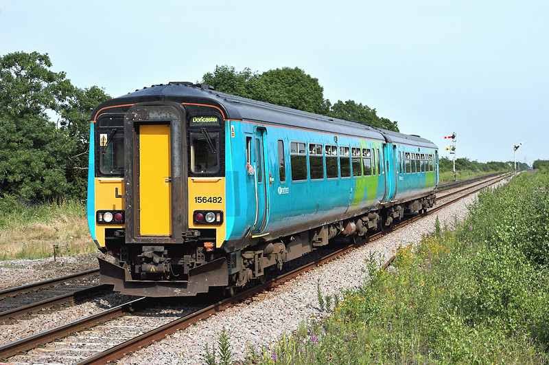 156482 Gilberdyke 4/7/2006<br /> 2C69 1454 Scarborough-Doncaster