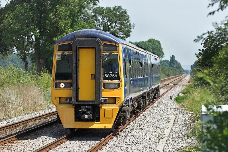 158758 Saltmarshe 4/7/2006<br /> 1J26 1112 Bridlington-Sheffield