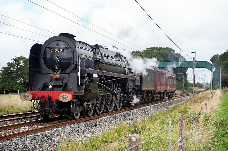71000 'Duke of Gloucester', Brock 4/9/2006<br /> 5Z71 1042 Carnforth-Heywood