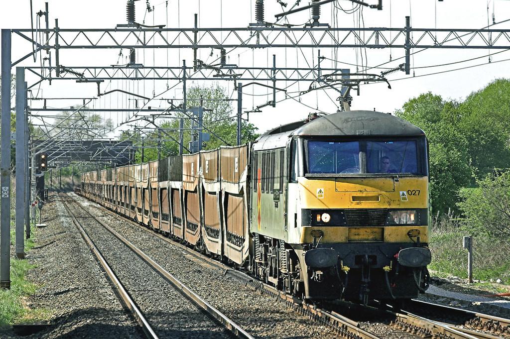 90027 Acton Bridge 5/5/2006<br /> 6L48 1449 Warrington Yard-Dagenham Dock