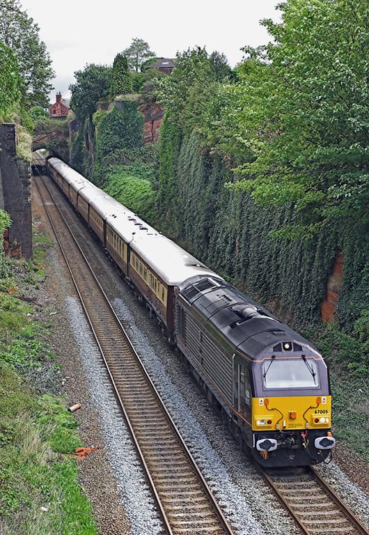 67005 Frodsham 5/9/2006<br /> 1Z68 0912 Manchester Victoria-Blaenau Ffestiniog