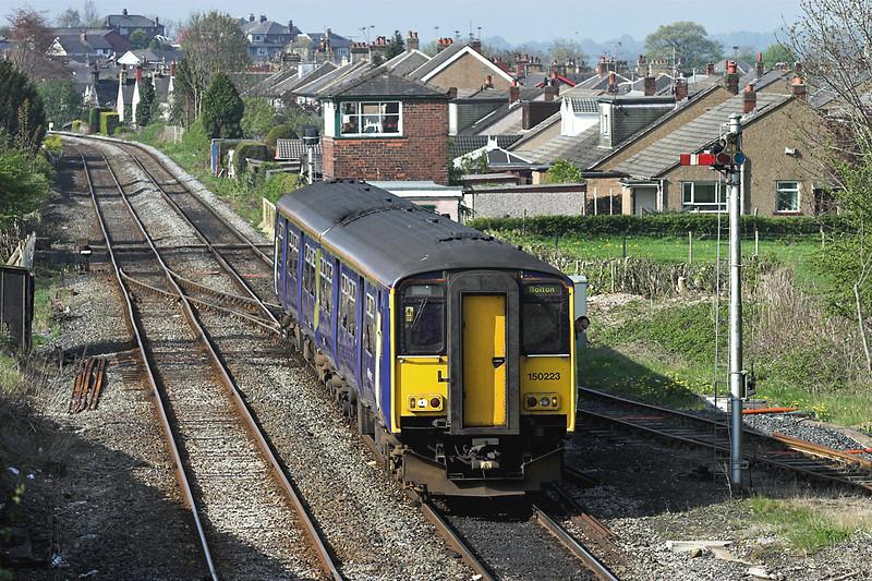 150223 Horrocksford Junction 6/5/2006<br /> 2N59 0819 Bolton-Clitheroe