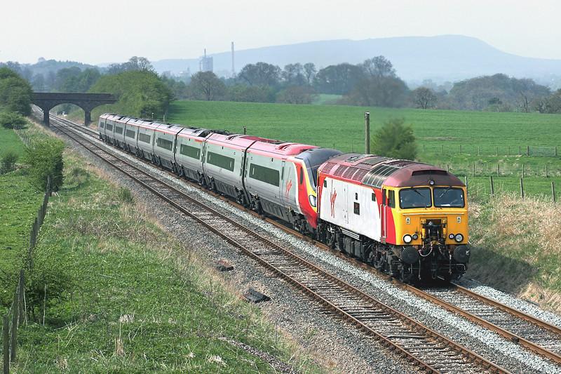 57303 and 390017, Rimington 6/5/2006<br /> 1C11 0715 London Euston-Carlisle
