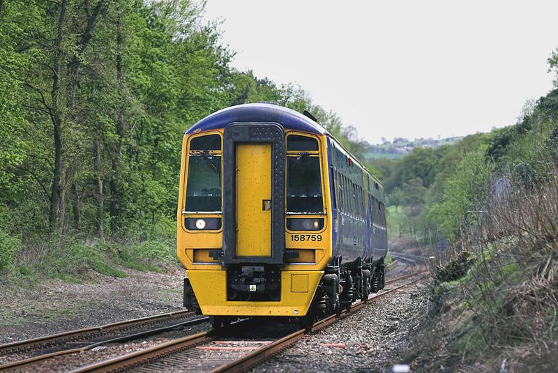 158759 Hoghton 6/5/2006<br /> 1B28 1109 York-Blackpool North
