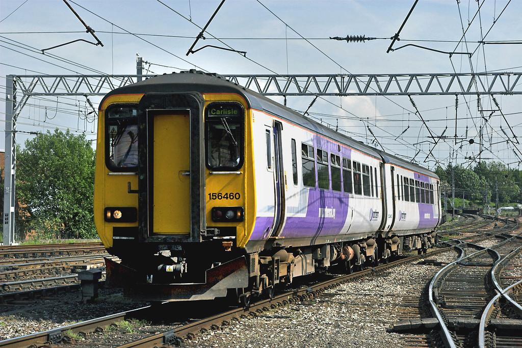 156460 Carlisle 6/6/2006<br /> 2C37 1355 Barrow in Furness-Carlisle