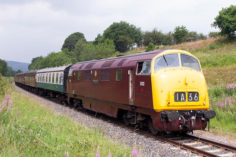 D832 Burrs 6/7/2006<br /> 1J66 1205 Rawtenstall-Heywood