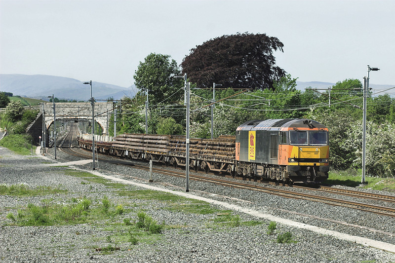 60007 Elmsfield 7/6/2006<br /> 6K05 1328 Carlisle Yard-Basford Hall
