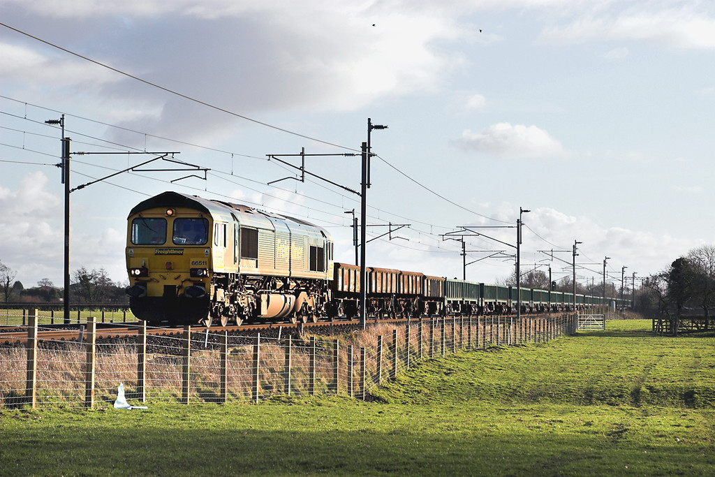 66511 Brock 8/2/2006<br /> 6T25 1300 Basford Hall-Carlisle Yard