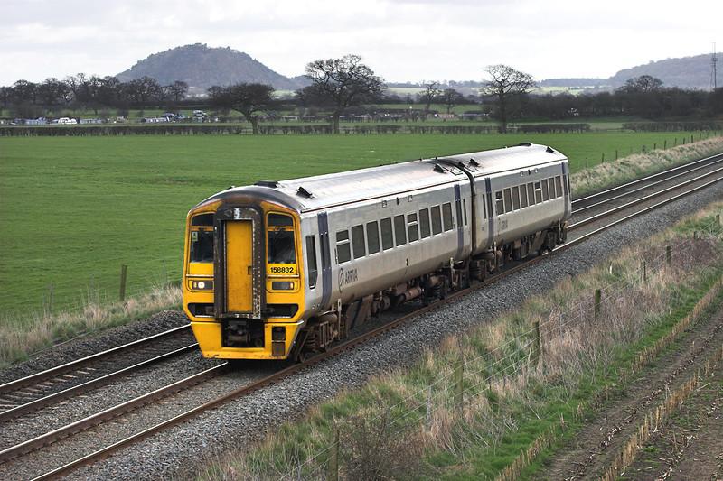 158832 Hargrave 8/4/2006<br /> 1D65 1108 Crewe-Holyhead