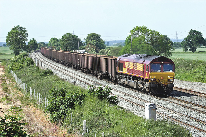 66208 Elford 8/6/2006<br /> 6Z72 1135 Healey Mills-Margam