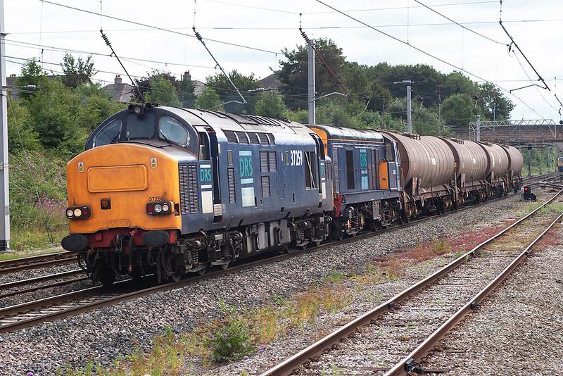 37259 and 20308, Carnforth 8/8/2006<br /> 6C27 1426 Sandbach-Sellafield