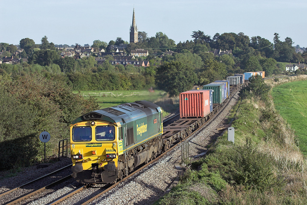 66534 Kings Sutton 8/9/2006<br /> 4S59 1500 Southampton MT-Coatbridge
