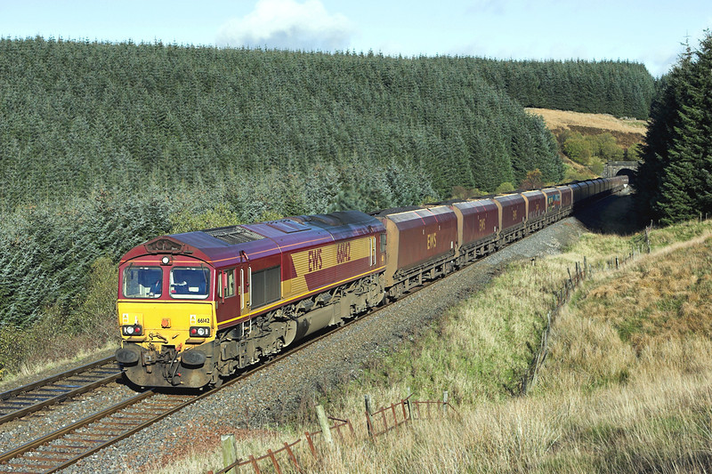 66142 Rise Hill 9/11/2006<br /> 6E85 0500 Hunterston-Drax PS