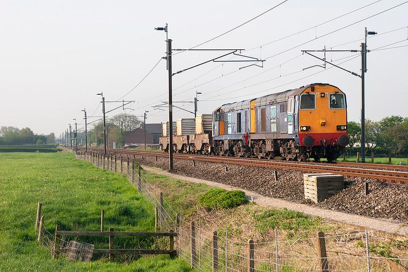 20312 and 20310, Brock 12/5/2006<br /> 6C53 0630 Crewe CLS-Sellafield