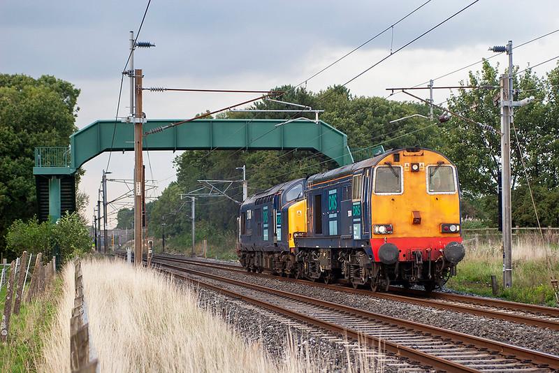 20314 and 37610, Brock 12/9/2006<br /> 0K73 1535 Sellafield-Crewe CLS