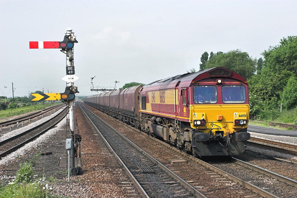66051 Barnetby 13/6/2006<br /> 4C72 0911 Scunthorpe-Immingham Bulk Terminal