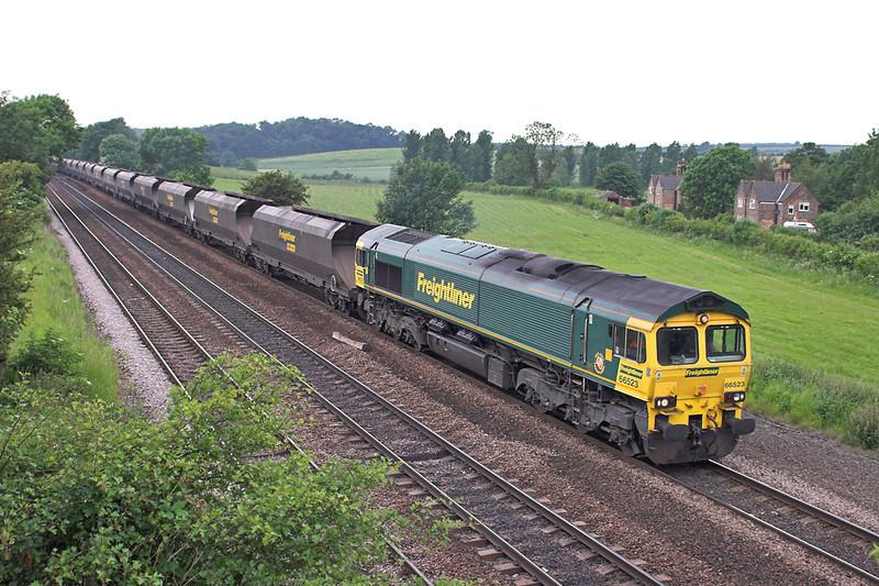 66523 Melton Ross 13/6/2006<br /> 4G36 1200 West Burton PS-Immingham Dock