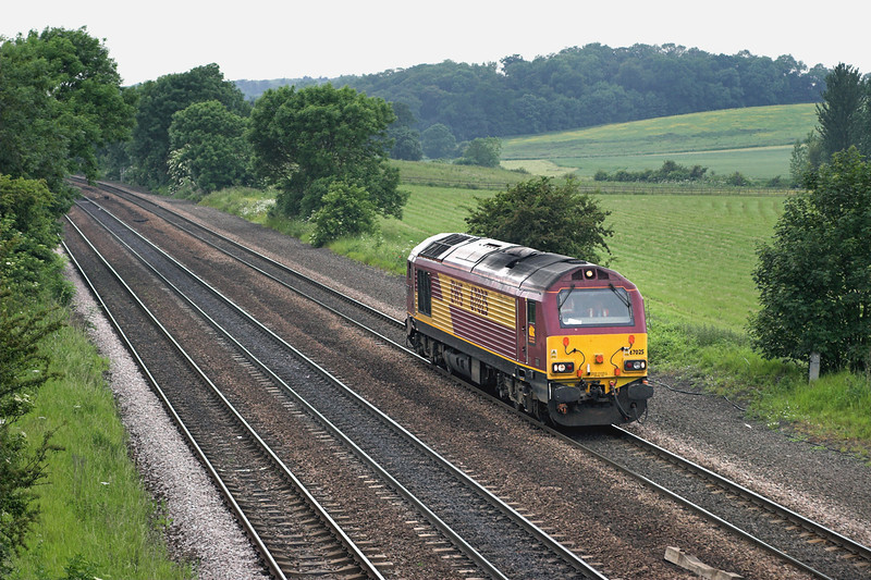 67025 Melton Ross 13/6/2006<br /> 0G62 1100 Knottingley TMD-Immingham Reception Sidings