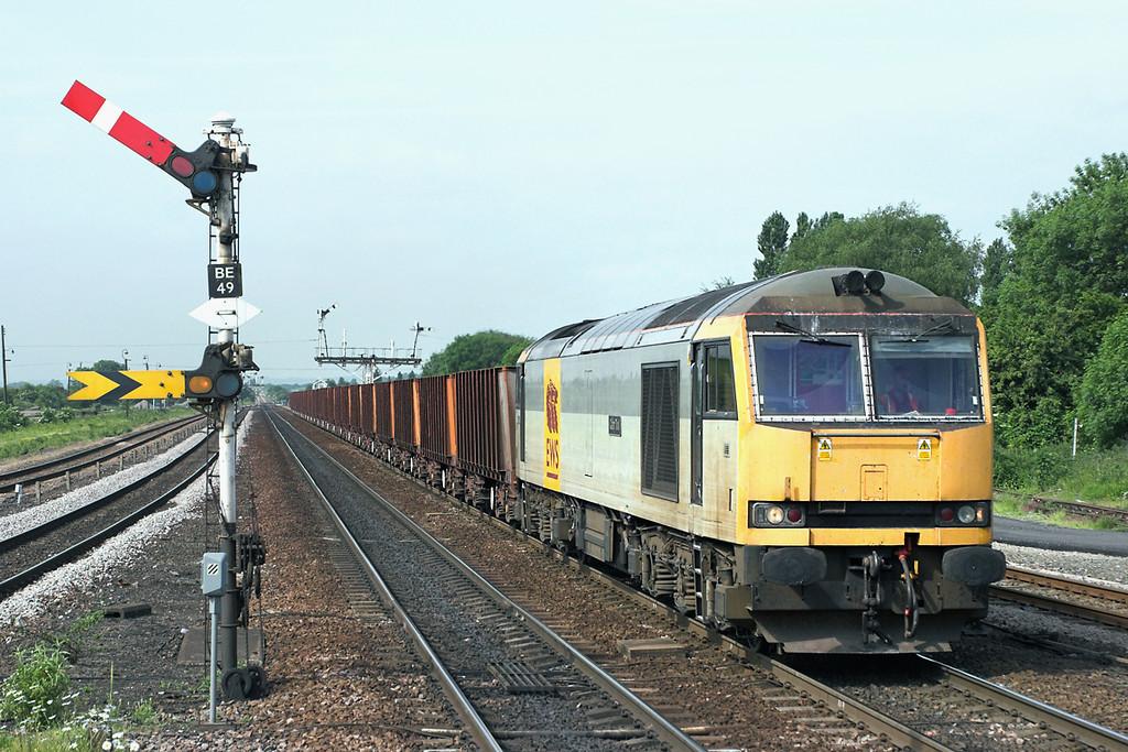 60072 Barnetby 13/6/2006<br /> 6K22 0935 Stanton-Immingham Ore Terminal
