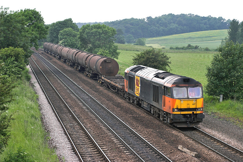 60007 Melton Ross 13/6/2006<br /> 6D45 1250 Doncaster Belmont Yard-Immingham Reception Sidings