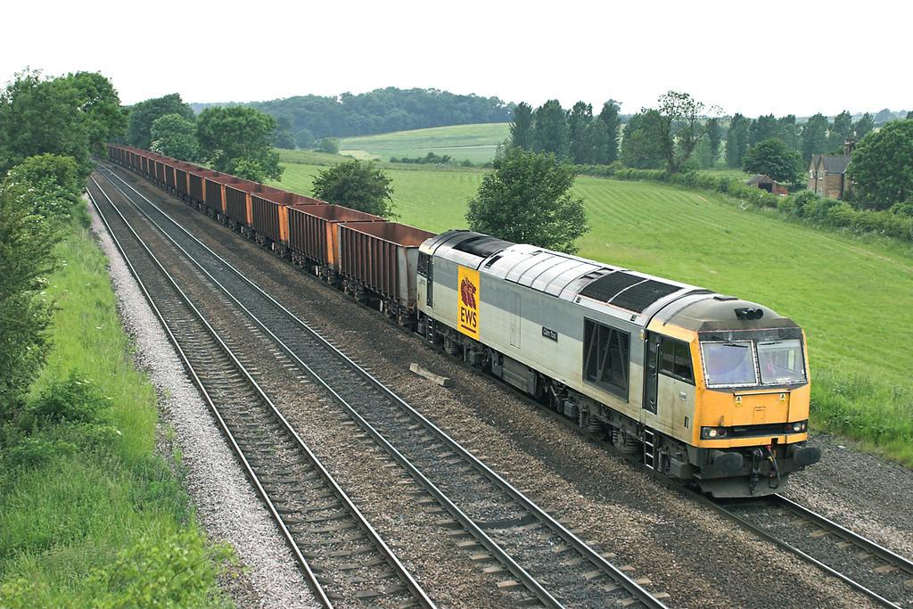 60072 Melton Ross 13/6/2006<br /> 6K24 1318 Stanton-Immingham Ore Terminal