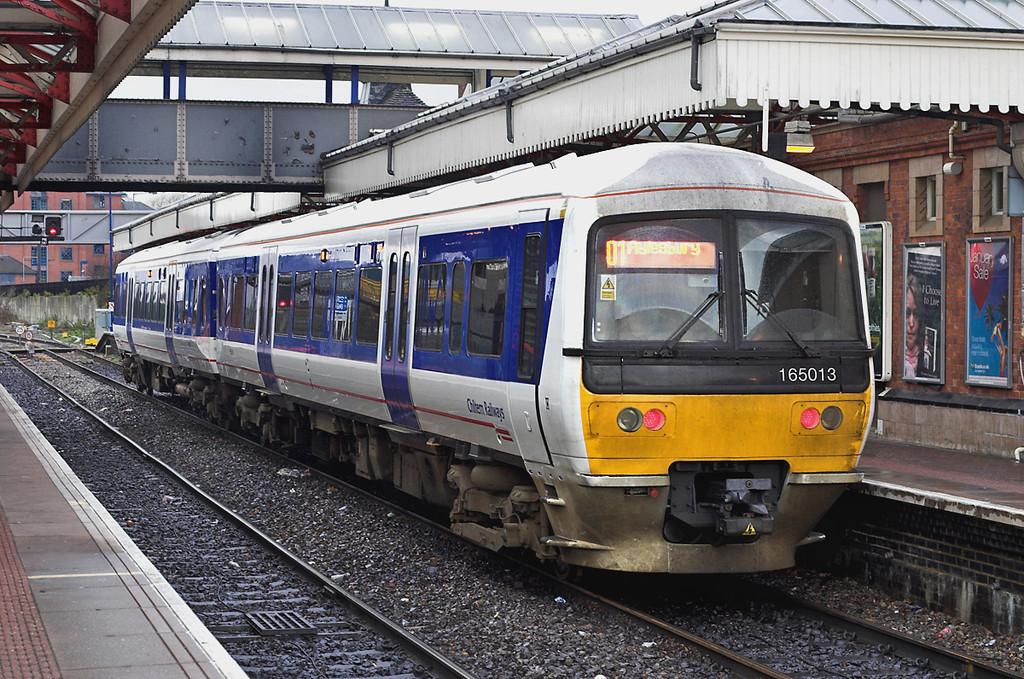 165013 Aylesbury 16/1/2006<br /> 2C22 1405 Aylesbury-London Marylebone