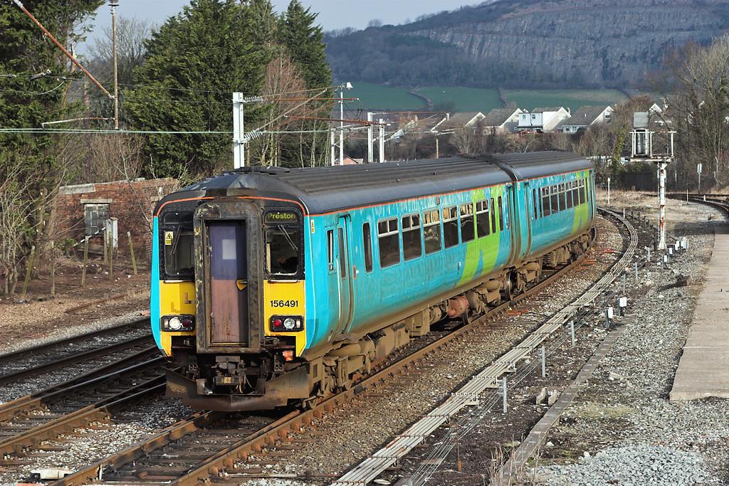 156491 Carnforth 16/3/2006<br /> 2N90 0605 Maryport-Preston