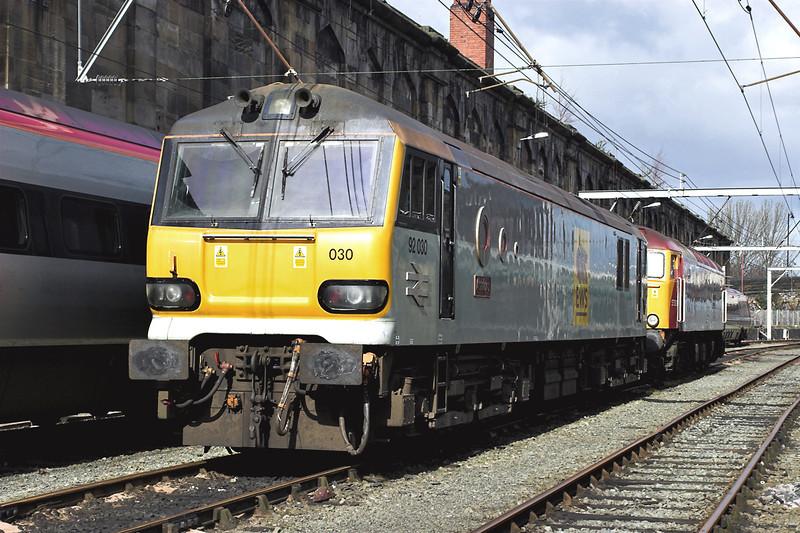 92030 and 57308, Carlisle 16/4/2006