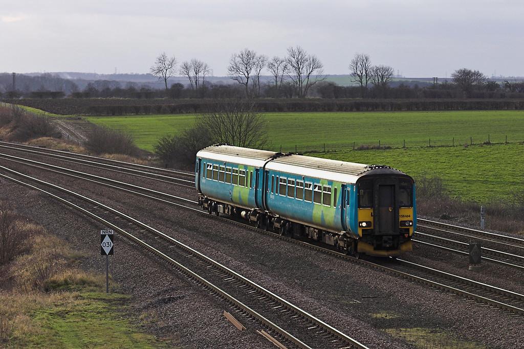 156484 Bolton Percy 17/1/2006<br /> 2R64 1312 Hull-York