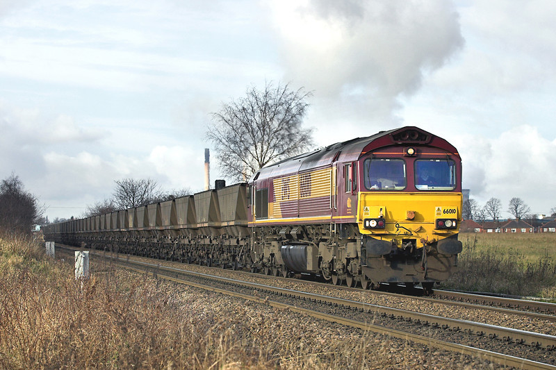 66010 Knottingley 17/1/2006<br /> 6E76 2218 Millerhill Yard-Drax PS
