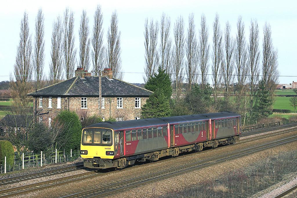 144022 Bolton Percy 17/1/2006<br /> 1B32 1309 York-Blackpool North