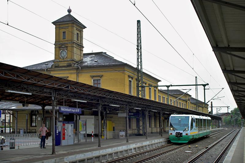VT31 Reichenbach 17/5/2006<br /> VBG83192 1616 Adorf-Zwickau Zentrum