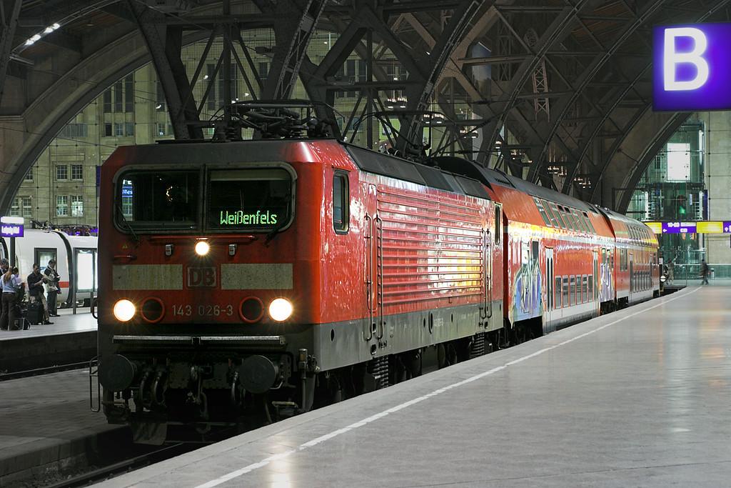 143026 Leipzig Hbf 17/5/2006<br /> RB27735 2248 Leipzig Hbf-Weißenfels