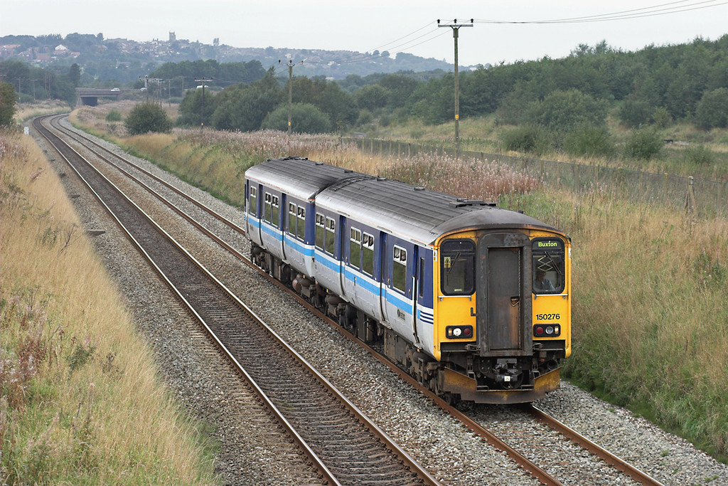 150276 Horwich Parkway 17/9/2006<br /> 2H98 1128 Blackpool North-Buxton