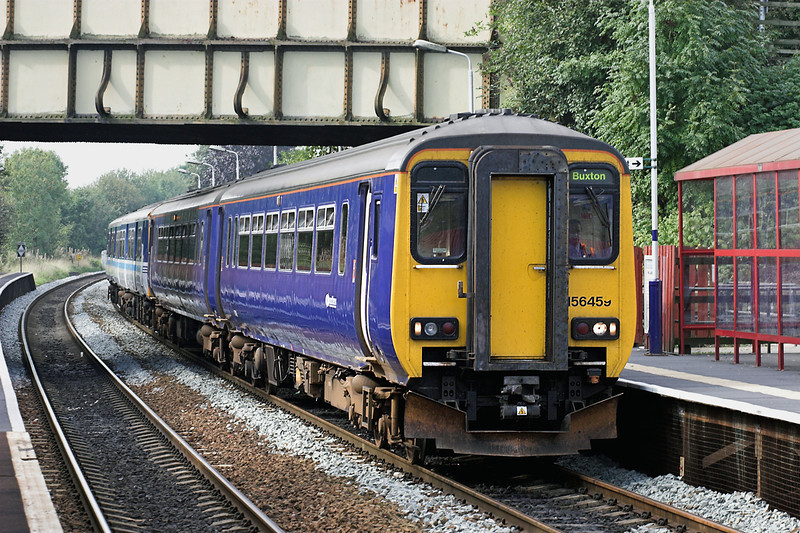 156459 and 150273, Lostock 17/9/2006<br /> 2H96 1028 Blackpool North-Buxton