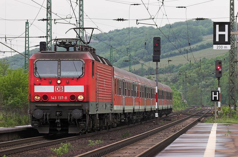143137 Großheringen 18/5/2006<br /> RB16321 1209 Eisenach-Halle Hbf
