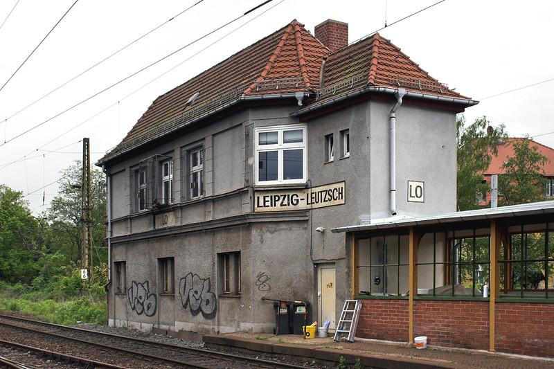 Leipzig Leutzsch Signal Box, Germany 18/5/2006