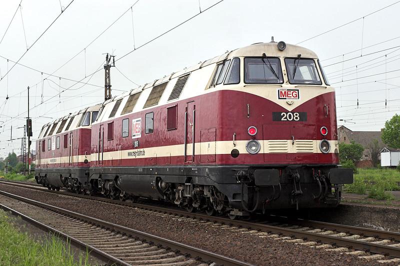 208 and 207, Großkorbetha 18/5/2006