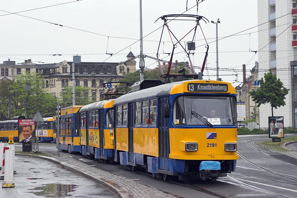 2191, 2088 and 930, Leipzig Hbf 18/5/2006