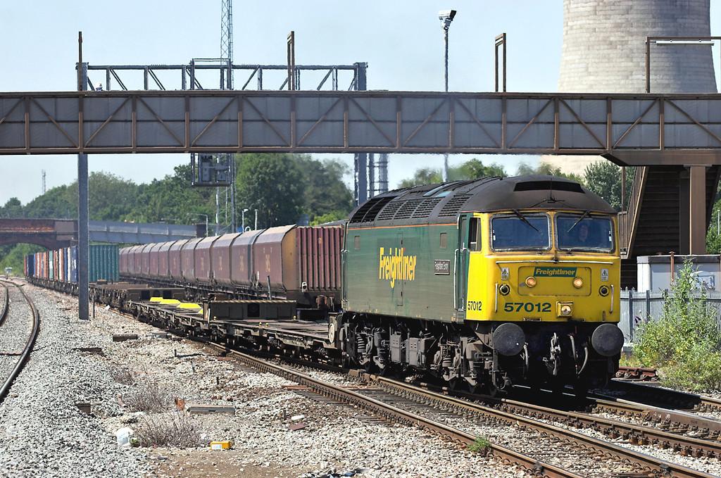 57012 Didcot Parkway 18/7/2006<br /> 4O51 1002 Wentloog-Southampton MT